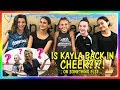 Kayla Joins A New Team Is It For Cheer We Are The Davis