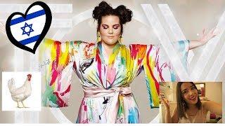 Video Israel Eurovision Reaction 2018 || Georgina Wanderlust MP3, 3GP, MP4, WEBM, AVI, FLV Desember 2018