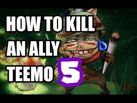 Cách để gài hàng Teemo