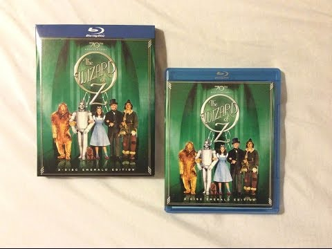 The Wizard of Oz: Emerald Edition (1939) - Blu Ray Review and Unboxing
