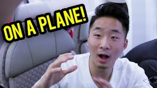 THINGS TO DO ON A PLANE | Fung Bros
