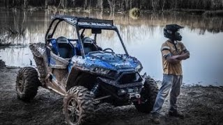 7. Polaris RZR XP 1000 Mudding Fun