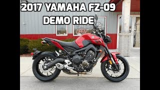 10. 2017 Yamaha FZ-09 First Ride