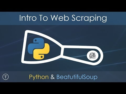 Intro To Web Scraping With Python