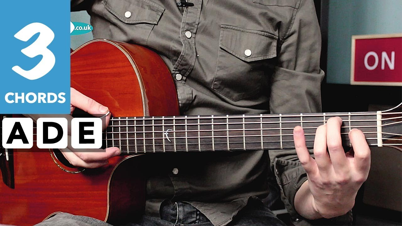 Play TEN guitar songs with 3 chords – Cooler Strumming & Riffs!