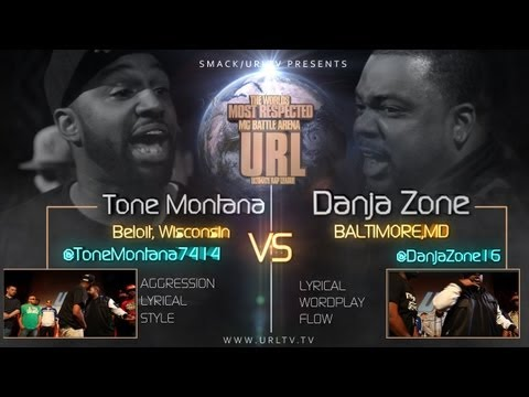 SMACK/URLTV PRESENTS : TONE MONTANA VS DANJA ZONE