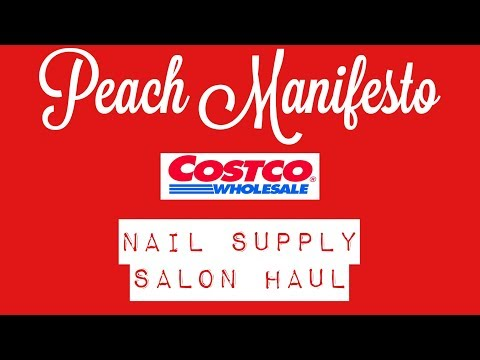 Costco Nail Salon Supplies Haul