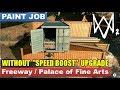 Paint Job / Palace of Fine Arts (construction area under the freeway interchange)