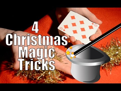 How to Perform 4 Amazing Christmas Magic Tricks
