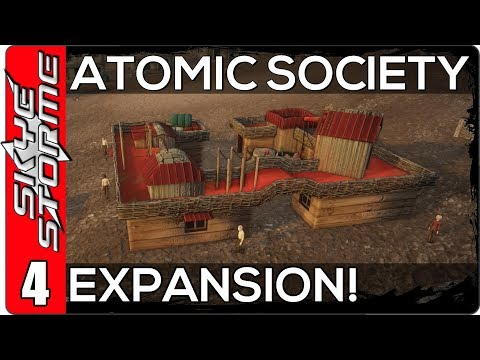 Atomic Society Part 4 ◀ EXPANSION! ... AND HANGING MORE VEGETARIANS ▶