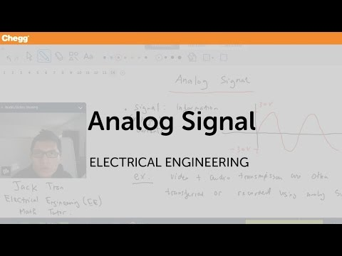 what is meant by analog signal