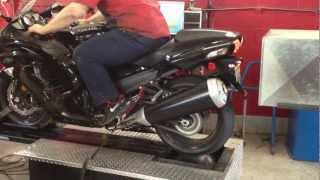 8. 2012 Kawasaki ZX14R Dyno run (stock) HD