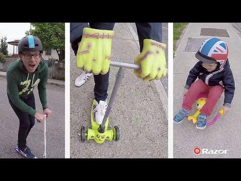 Monopattini per bambini Razor: a LED, mostruosi e per tutte le età!