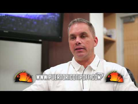 Coach Holtmann Invites All Butler Fans to Puerto Rico This November