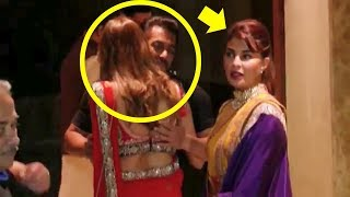 Video Salman Khan HUGS Hot Woman & Ignores Jacqueline Fernandez At Sanjay Dutt's Diwali Party 2017 MP3, 3GP, MP4, WEBM, AVI, FLV Juni 2018