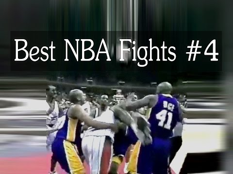 Best NBA Fights  - Top Fights in NBA History