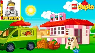 LEGO DUPLO Food funny game for Kids