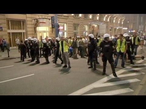 وزير الداخلية البولندي يتوعد مثيري أعمال الشغب في اليورو - فيديو
