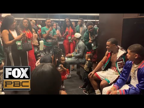 Inside Errol Spence Jr.'s locker room after his win over Mikey Garcia | PBC ON FOX