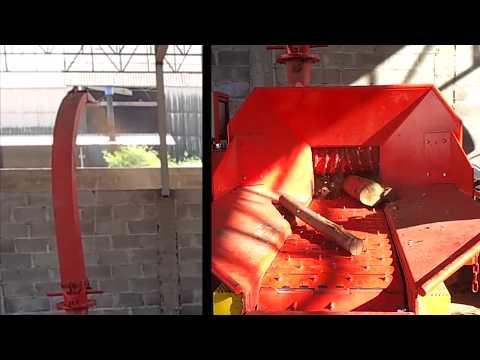 Picador de madeira Florestal PFL 300 x 500 T - facilidade na alimentação manual