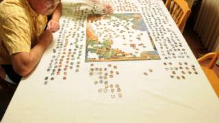Jigsaw Puzzle Timelapse