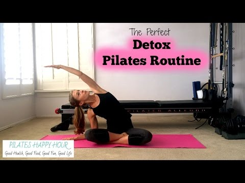 Pilates Detox and Energy Routine