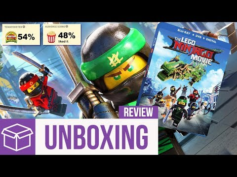 The LEGO Ninjago Movie Blu Ray Unboxing + Review (Digital HD Giveaway)