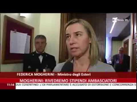 Venezuela, Afghanistan, Spending review: il Ministro Mogherini a Rai news