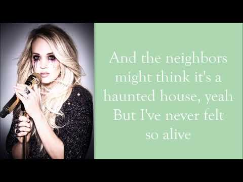 Carrie Underwood ~ Ghosts on the Stereo (Lyrics)