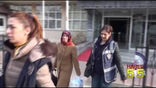 SAMSUN'DA BYLOCK'ÇU ÖĞRETMENLER ADLİYEYE SEVK EDİLDİ