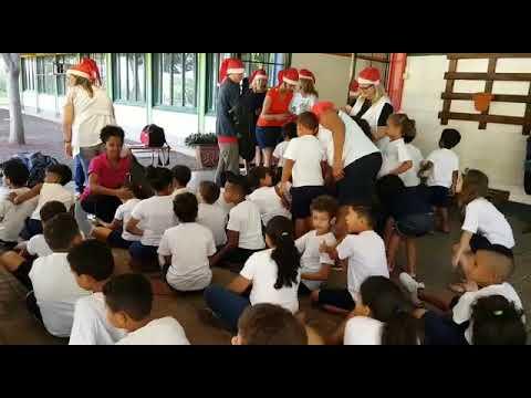 Jovens do Rotaract e da UESPAR presenteiam 250 famílias do CAIC