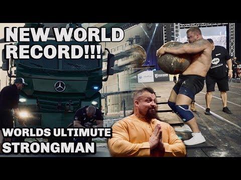 BRIAN SHAW WORLD RECORD   WUS FULL COMP!