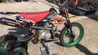 4. SSR 110 Best pit bike ever!!! FULLY MODIFIED!!