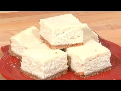 Trick to Cutting Cheesecake Bars : Sweet Recipes