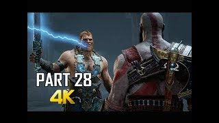 Nonton God Of War Gameplay Walkthrough Part 28   Gods Boss Battle  Ps4 Pro 4k Commentary 2018  Film Subtitle Indonesia Streaming Movie Download