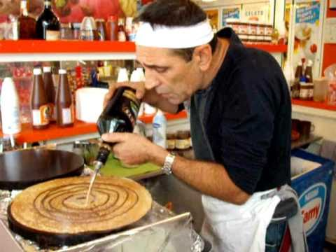 the pancake in Alcudia with love is in the