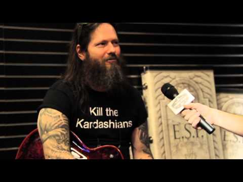 Slayer Guitarist Gary Holt ESP Demo Live from NAMM 2015
