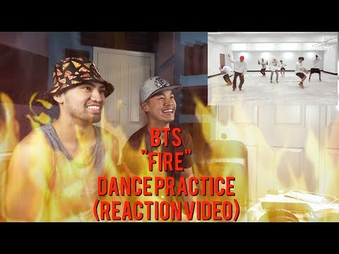 BTS - Fire - Dance Practice - (REACTION VIDEO)
