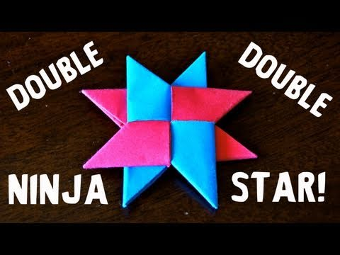 How to Make a Double Ninja Star (DIST-8) - Rob's World
