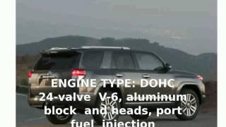 5. 2010 Toyota 4Runner V6 Specs