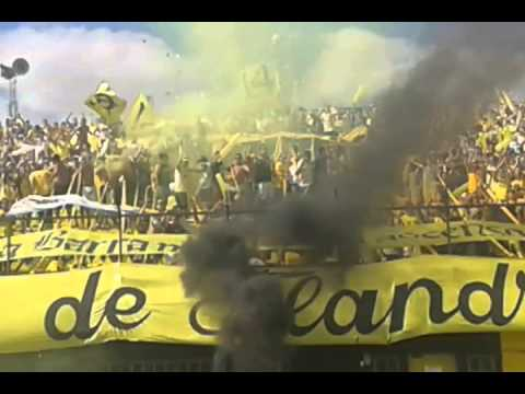 Recibimiento de Flandria 0 vs Deportivo Español 2. Parte II - La Barra de Flandria - Flandria