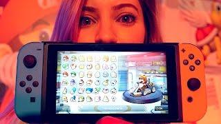 Nintendo Switch HANDS ON! | iJustine