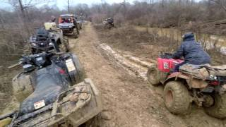 8. Mud Creek | 2016 Honda Rubicon Pulling EVERYONE Out w/ The TigerTail