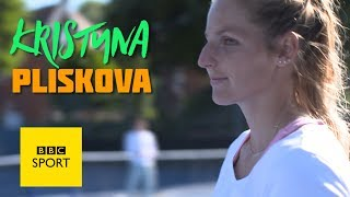 Tennis star Kristyna Pliskova, known for her love of an ace, gives a serving masterclass to BBC Newsbeat's Simon Mundie.Follow Wimbledon 2017 with BBC Sport here: http://www.bbc.co.uk/sport/tennisSubscribe to the official BBC Sport YouTube channel now so you never miss out on our best videos, while over at bbc.co.uk/sport you can get all the best live sport, highlights and the latest news.Please subscribe HERE http://bit.ly/1sFodyu BBC Sport: http://www.bbc.co.uk/sport Facebook: https://www.facebook.com/BBCSport/ Twitter: https://twitter.com/BBCSport Instagram: https://www.instagram.com/bbcsport/