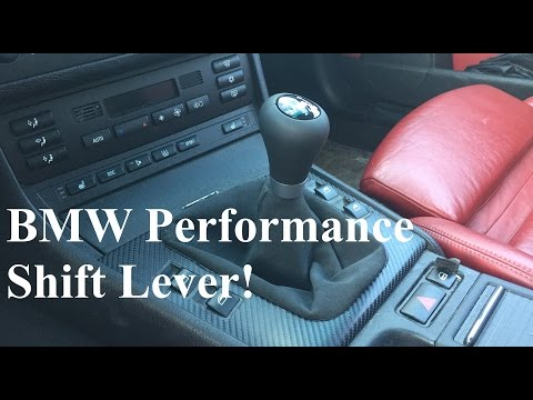DIY BMW Performance Shift Lever Intsall