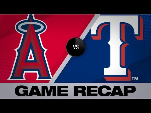 Video: Heaney, Trout set career highs in 5-1 win   Angels-Rangers Game Highlights 8/20/19