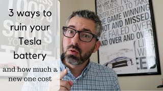 Video 3 ways to ruin your Tesla battery and how much a new one cost MP3, 3GP, MP4, WEBM, AVI, FLV Juni 2019