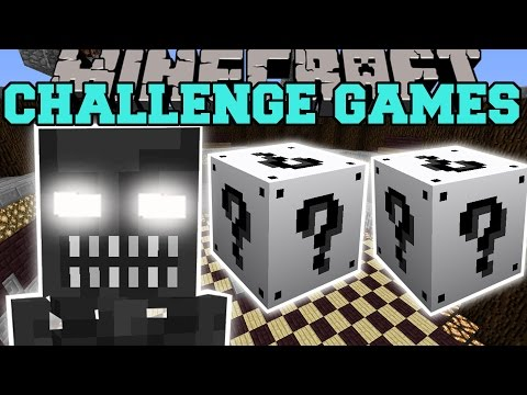 Minecraft: ENDOSKELETON CHALLENGE GAMES - Lucky Block Mod - Modded Mini-Game