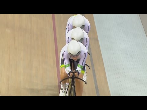 Australia set Women's Team Pursuit World Record!