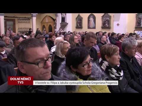 TVS: Dolní Němčí - Koncert Schola Pragensis